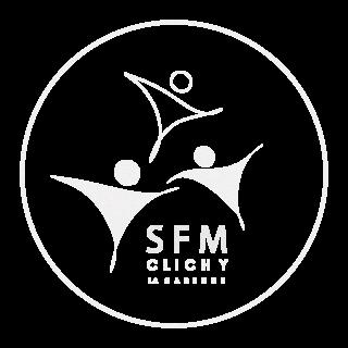 Logo 2-1 Blanc moucheté avec contour